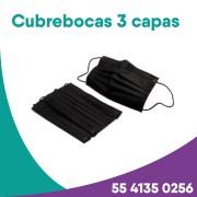 Tapabocas de 3 capas